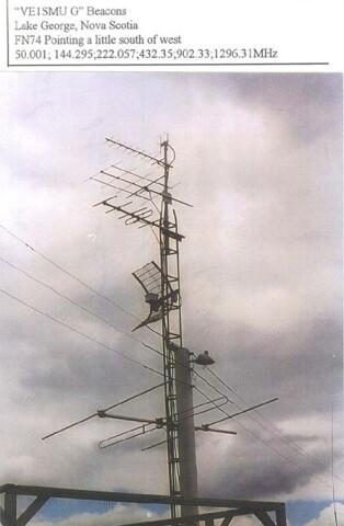VHF/UHF BEACONS by WZ1V